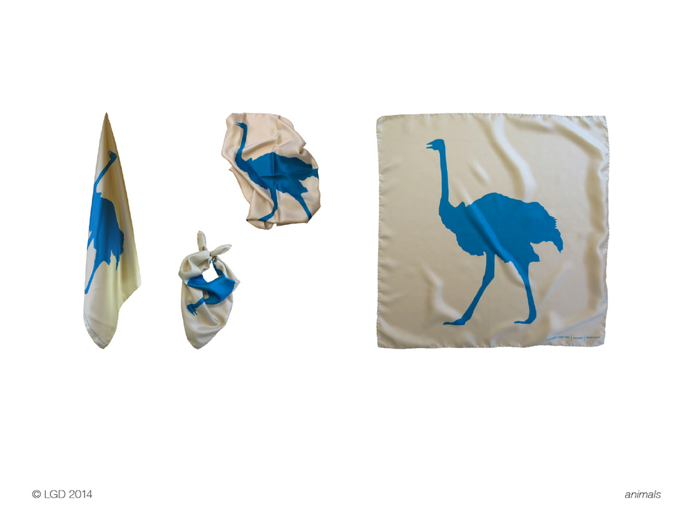 Lorenzo Gaetani Design - Animals Foulard