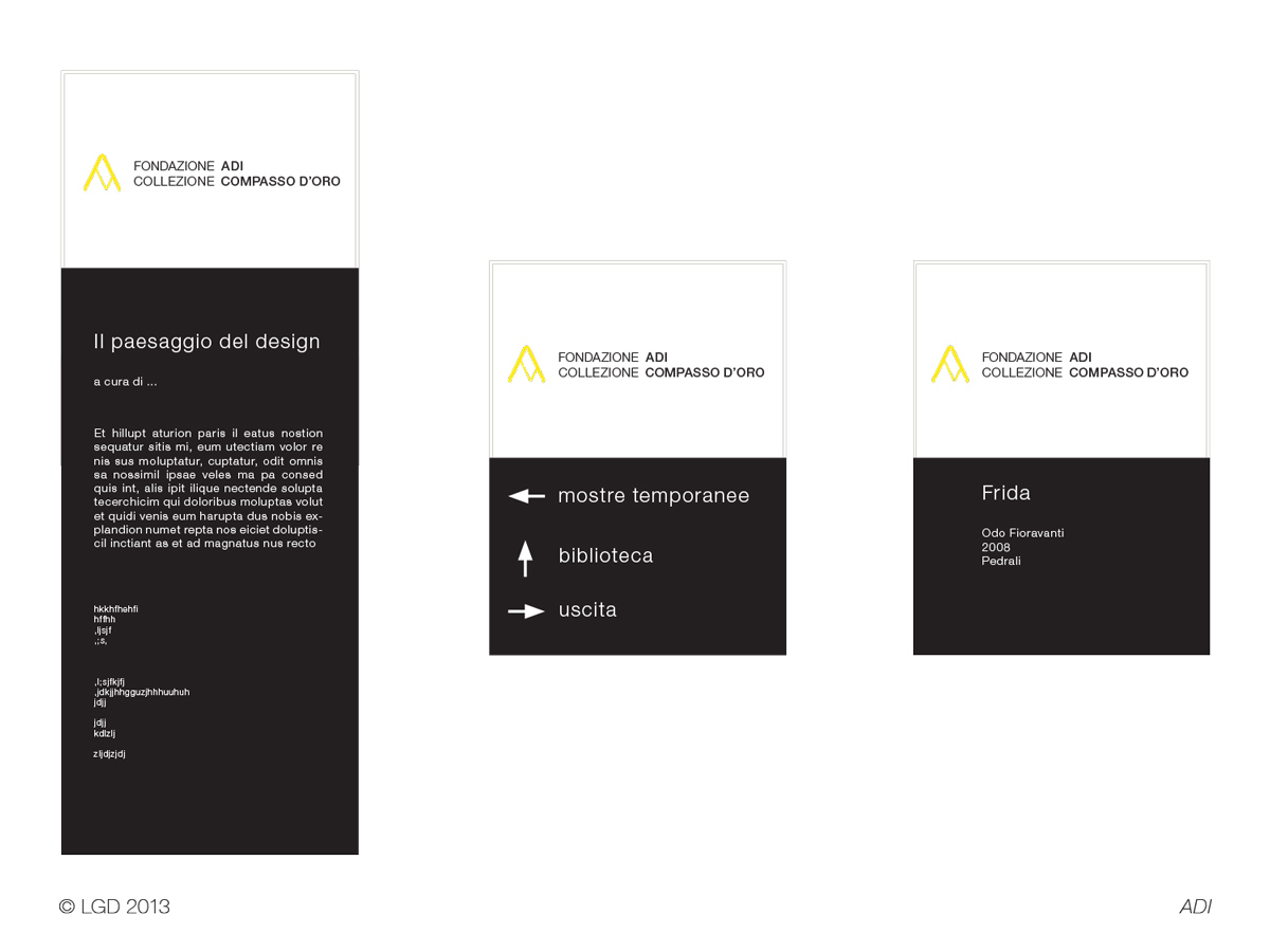 Lorenzo Gaetani Design - Esporre il Compasso d'oro