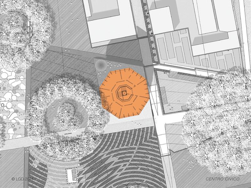 Lorenzo Gaetani Design - Centro civico