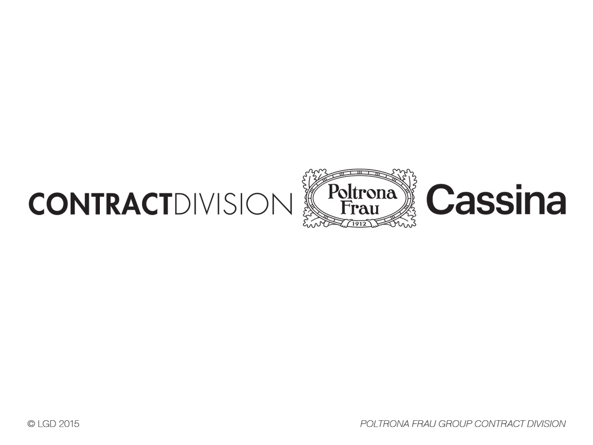 Lorenzo Gaetani Design - Poltrona Frau - Contract Division
