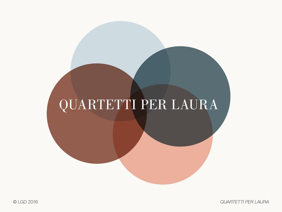 Lorenzo Gaetani Design - Quartetti per Laura