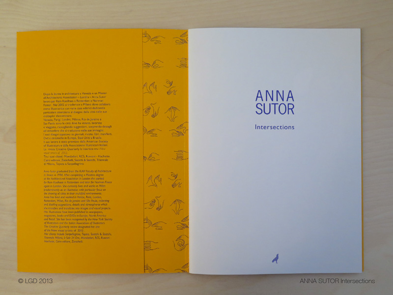 Lorenzo Gaetani Design - Anna Sutor Intersections