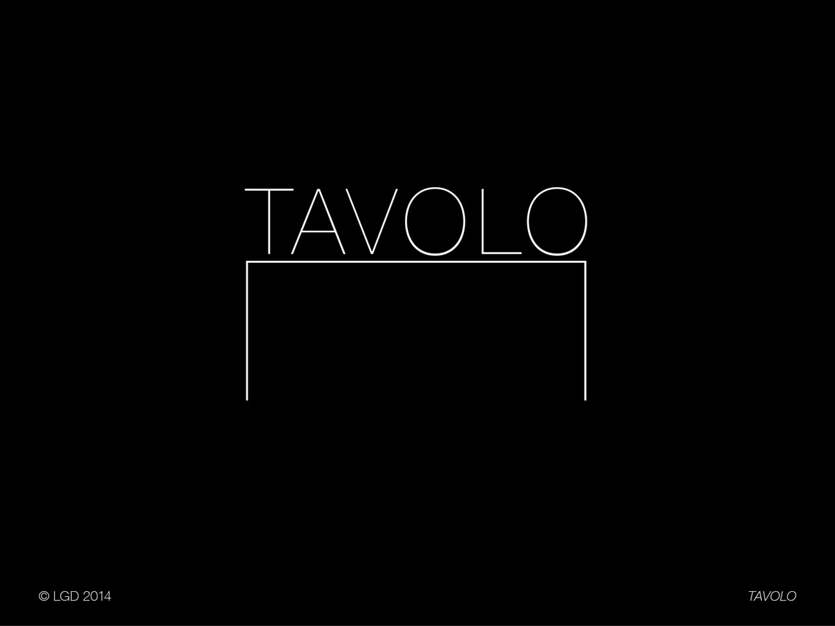 Lorenzo Gaetani Design - Tavolo