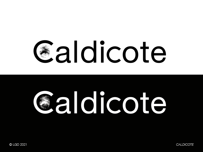 LORENZO GAETANI DESIGN Brand Identity Caldicote 2021